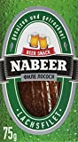"nabeer Fisch Snack ""Lachs"", getrocknet, 5er Pack (5 x 75 g)"