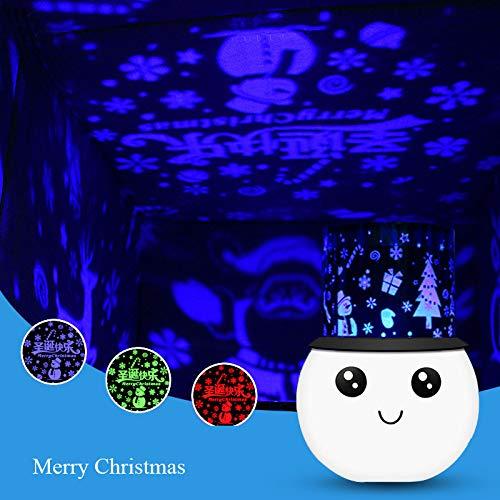Nuevas luces estrelladas románticas extrañas luces de proyección de siete colores LED...