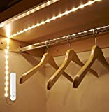 Tira luz led con sensor de movimiento 2 m armarios vestidores pasillos alacenas muebles vitrinas zapateros botelleros caravanas .solucion perfecta de CHIPYHOME