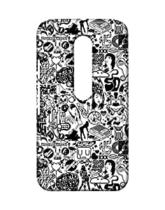 Pickpattern Back Cover for Motorola Moto G 3rd Generation