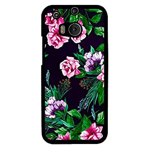 Mobo Monkey Designer Printed Back Case Cover for HTC One M8 :: HTC M8 :: HTC One M8 Eye :: HTC One M8 Dual Sim :: HTC One M8s (Flower :: Texture :: Floral :: Girl :: Her)