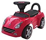 EZ' PLAYMATES BABY RIDE ON SEDAN CAR RED