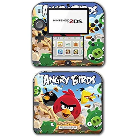 Angry Birds Red Chuck Bomb Pig Video Game Vinyl Decal Skin Sticker Cover for Nintendo 2DS System Console by Vinyl Skin