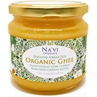 Na'vi Organics Organic Certified - Grass Fed - English Ghee (350 ml)