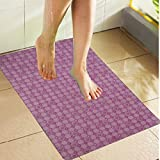 Best Bathtub Mats - Kuber Industries™ Non Slip Bathroom Mat,Bathtub Mat,Shower Mat,Bath Review