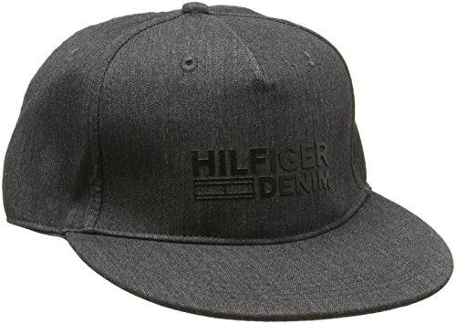 Hilfiger Denim Herren Baseball Thdm Cap 8, Grau (Deep Grey Htr 017), One size