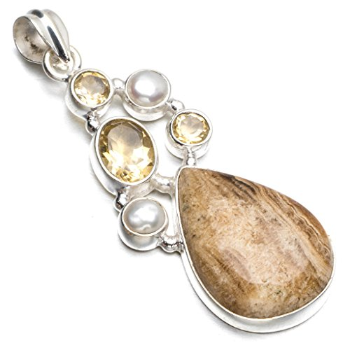 stargems-tm-natur-dragon-septarian-citrin-und-river-pearl-punk-style-925sterling-silber-anhnger-51cm