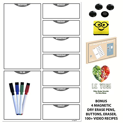 a3-magnetic-daily-meal-shopping-planner-dry-erase-diet-organiser-memo-board-with-magnetic-eraser-4-m