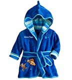 Kinder Kapuzenbademantel Kids Soft Fleece Pyjamas Nachtwäsche