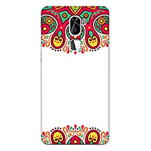 CrazyInk Premium 3D Back Cover for Coolpad Cool 1 - DECORATIVE INDIAN ART