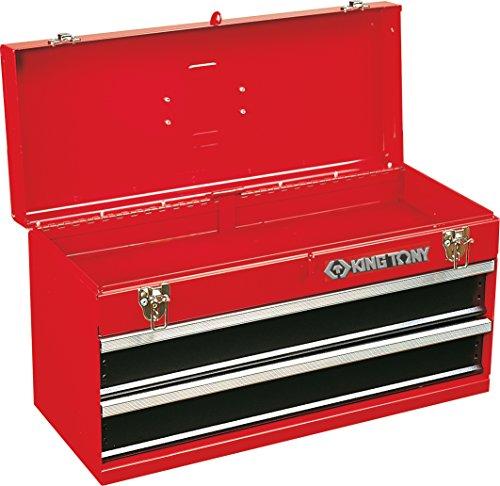 King TONY 874012 Werkzeugschrank mit 2 Schubladen, 505 x 195 x 65 mm