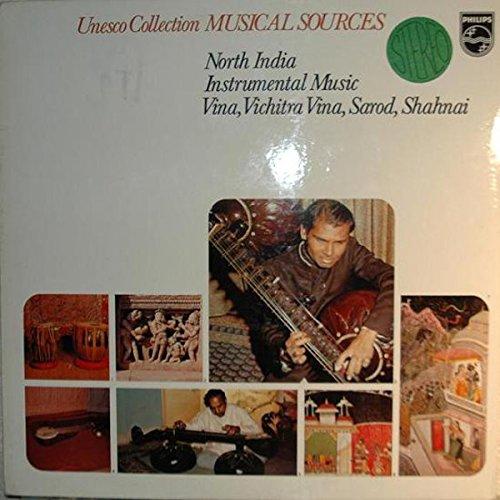 north india instrumental music: vina, vichitra vina, sarod, shahnai - LP