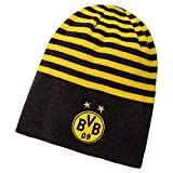 PUMA BVB Reversible Beanie, Black-Cyber Yellow, OSFA