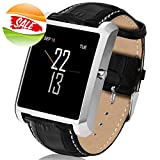 #9: Novateur RY87 Smart Watch with All-in-1 Features for iPhone, Android, Samsung, Oppo, Vivo,MI, Oneplus, HTC, Sony (Silver)