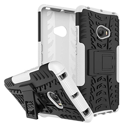 XiaoMi Mi Note 2 Funda, 2in1 Armadura Combinación A Prueba de Choques Heavy Duty Escudo Cáscara Dura para XiaoMi Mi Note 2 (Blanco)
