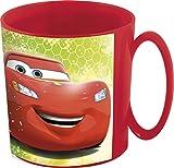 Theonoi Tazza di plastica 350 ML Selezionabile: Cars – PawPatrol – Avengers – Blaze/Tazza in plastica Senza BPA – Adatta al microonde Regalo Ragazzi Auto