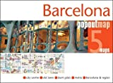 Barcelona PopOut Map - handy, pocket-size pop up Barcelona city map (Popout Maps)