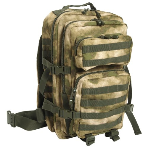 Mil-Tec MOLLE US Assault Pack Grand MIL-TACS FG ,A-TACS FG ,Large