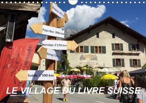 Price comparison product image Le Village Du Livre Suisse 2017: Saint-Pierre-De-Clages (Calvendo Places)