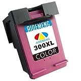 AideMeng Remanufacturado Reemplazo para HP 300XL 300 Cartuchos de tinta (1 Negro, 1 tricolor) Compatiable para HP DeskJet D1660 D2560 D2660 D5560 F2480 F4224 F4280 F4580, HP Envy 100 110 114 120, HP PhotoSmart C4680 C4780 C4783 C4670 C4600 C4700 (1 Color)