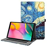 FINTIE Custodia per Samsung Galaxy Tab A 10.1 2019 - [Multi-angli] Slim Fit Folio Stand Cover Protettiva Case per Samsung Galaxy Tab A 10.1 2019 SM-T510 / SM-T515, Starry Night