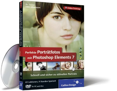 Perfekte Porträtfotos mit Photoshop Elements 7