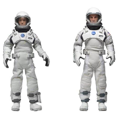 Preisvergleich Produktbild NECA NECA14925 - Christopher Nolan's Interstellar Cooper und Brand Clothed Figuren, 20 cm, Limited Edition 2er packung