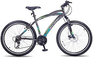 Hero Speed Sprint Steel Cycle, Adult (Grey)