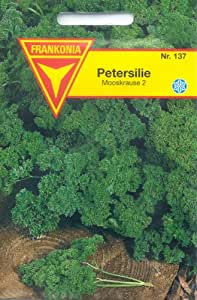 Frankonia 137 Petersilie, Mooskrause 2, gefüllt, Samen