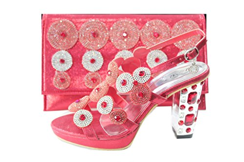 Wear & Walk UK , Sandales pour femme Rouge