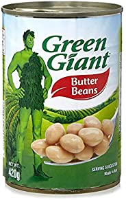 Green Giant Canned Butter Beans - 420 gm (Beige)