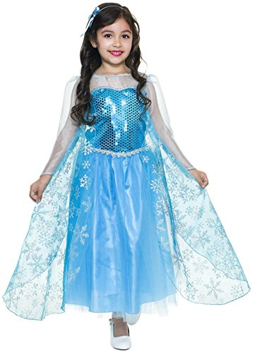 Charades Kostüme Ice Queen–Groß (10–12)