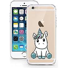 IPhone 5 5S SE Hulle Von LicasoR Fur Das Apple Aus TPU Silikon Baby Unicorn Einhorn Suss Niedlich Muster Ultra Dunn Schutzt Dein Ist
