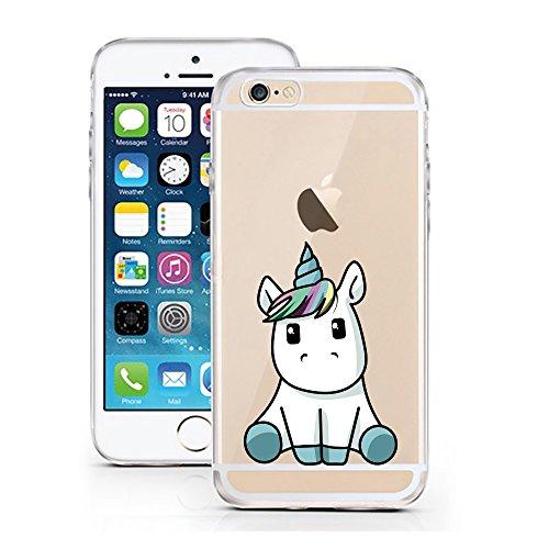 iPhone 6 6S Hülle von licaso für das Apple iPhone 6 aus TPU Silikon Baby Unicorn Einhorn Süß...