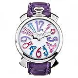 GaGa Milano Manuale horloge 40 mm vuoto Croco print 5020.07