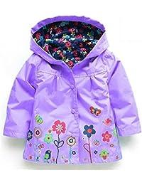 1-6 ans Enfants Manteaux Bébé Filles Garçons Imperméable Imperméable Vêtements pour les Enfants