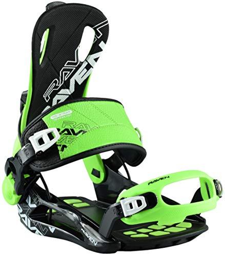RAVEN Snowboard Bindung Fastec FT270 Green Größe: L
