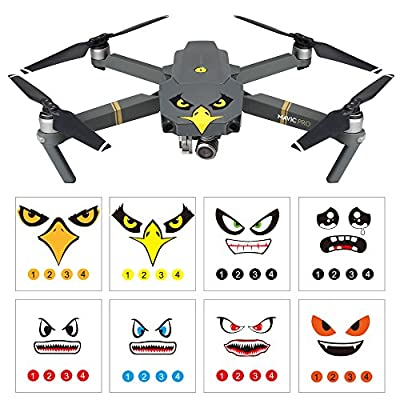 RCstyle 3M Emoji Decal Vinyl Sticker Set for DJI Mavic Pro/DJI Spark from RCstyle