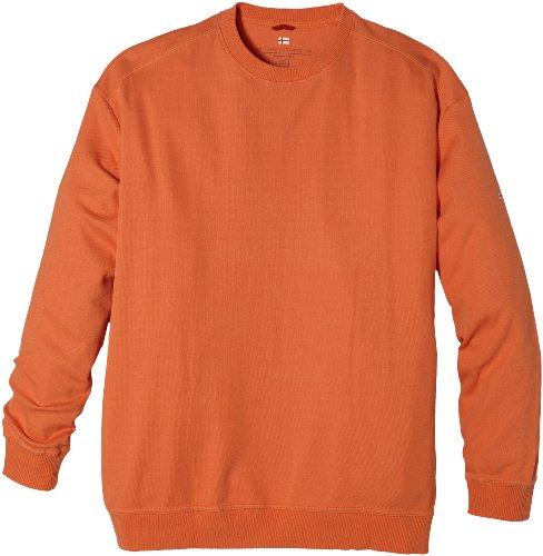 GREYSTONE Sweatshirt 4XL und 5XL Übergröß Orange Orange