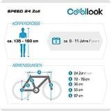 24 Zoll Speed EU-PRODUKT Fully Jugend Fahrrad jungenfahrrad Rad Bike Cycling Damenfahrrad Kinderfahrrad Kinderrad Full Suspension Mädchenfahrrad Mountainbike MTB SHIMANO, Rahmen 31 cm, 18-GANG, Weiss (Weiss) -