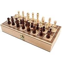 Reise-Schachspiel-Magnetisch-Reiseschach-Set-als-Geschenk-fr-Kinder-und-Erwachsene-Handgefertigte-Holz-Schach-Aufklappbares-Schachbrett-fr-Reisen-Reisespiel-Figuren