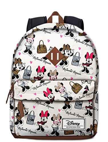 Imagen de karactermania disney classic minnie fashion  tipo casual, 43 cm, 27 litros, blanco