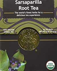 Sarsaparilla Tea - Organic Herbs - 18 Bleach Free Tea Bags