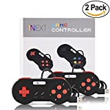 iNNEXT 2 x SNES USB-Controller PC Gamepad Joypad SNES Controller Gamepad für Windows PC Mac
