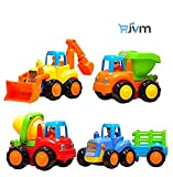 #4: JVM Unbreakable Automobile Car Toy (Set of 4, Multicolor)