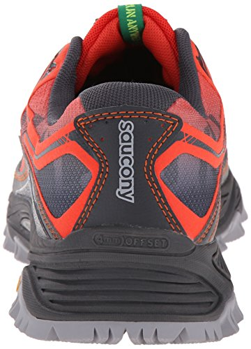 Saucony Herren Xodus 6.0 Trainingsschuhe, Pointure Multicolore (Red/Black Pa)