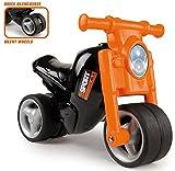Smoby - 770120 - Porteur Moto - Roues Silencieuses - Orange