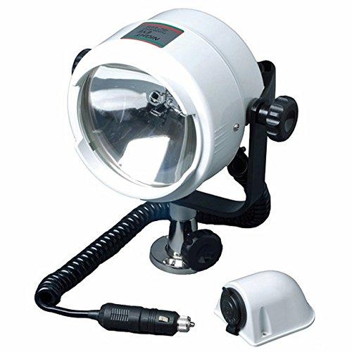 Osculati Such-Scheinwerfer Night-Eye 12V 100+100W für Decksmontage - auch Handscheinwerfer