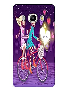 TREECASE Designer Printed Soft Silicone Back Case Cover For Samsung Galaxy J5 (2016) 5.2 inches