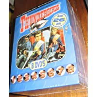 THUNDERBIRDS - Complete collection of 32 episodes incl extras - dig. remastered - 8 disc DVD Box set
